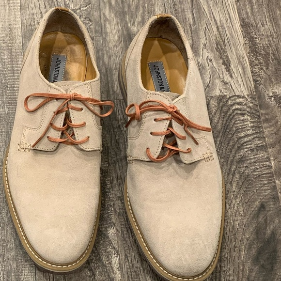 Johnston & Murphy Other - Men's Johnston & Murphy suede shoes 10.5